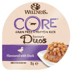 Wellness CORE - Repas Savoury Duos au Canard pour Chat - 79g