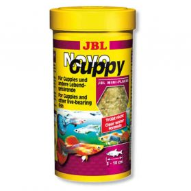 JBL - Aliment Novo Guppy en Mini Flocon pour Guppy - 100ml
