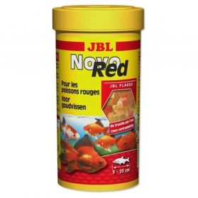 JBL - Aliment Novo Red en Flocon pour Poisson Rouge - 100ml