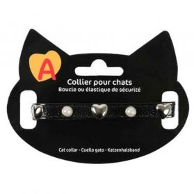 Animalis - Collier Original pour Chat - Noir