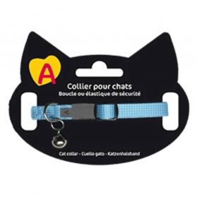 Animalis - Collier Basic pour Chat - Bleu