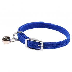 Animalis - Collier Elastic pour Chat - Bleu