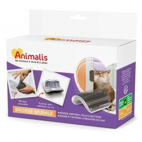 Animalis - Brosse Murale pour Chat