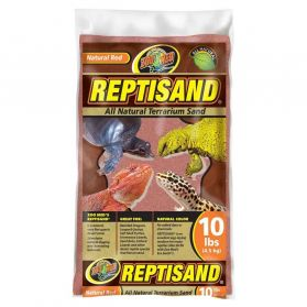 Zoomed - Sable Reptisand Naturel Rouge pour Reptiles - 4,5Kg