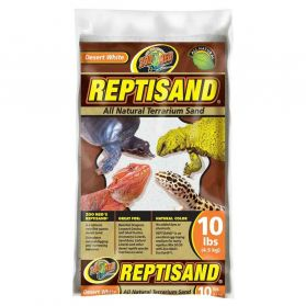Zoomed - Sable Reptisand Désert Blanc pour Reptiles - 4,5Kg