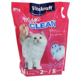 Vitakraft - Litière Magic Clean Classic pour Chats - 8,4L
