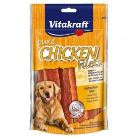 Vitakraft - Friandises Pure Chicken Filets pour Chien - 80g