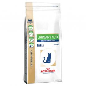 Royal Canin - Croquettes Veterinary Diet Urinary S/O Hight Dilution pour Chat - 7Kg