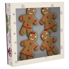Pet Brand - Biscuit Mr & Mme Gingerbread pour Chien - x4