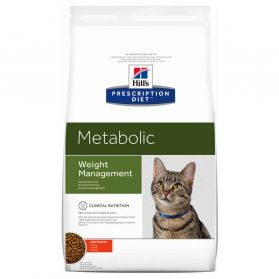 Hill's Prescription Diet - Croquettes Metabolic Poulet pour Chat - 4Kg