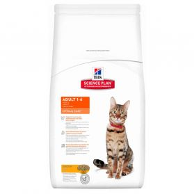 Hill's Science Plan - Croquettes Optimal Care Adult Poulet pour Chat - 10Kg
