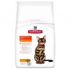 Hill's Science Plan - Croquettes Light Adult Poulet pour Chat - 10Kg