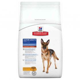 Hill's Science Plan - Croquettes Active Longevity Large Mature 5+ Poulet pour Chien - 12Kg