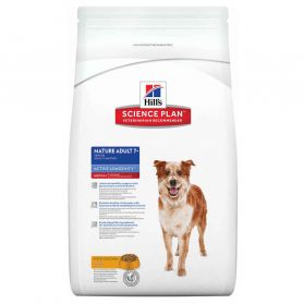 Hill's Science Plan - Croquettes Active Longevity Medium Mature 7+ Poulet pour Chien - 12Kg