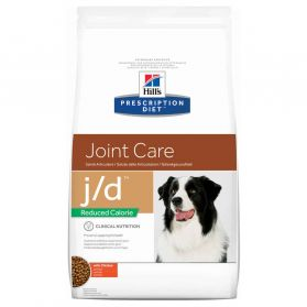 Hill's Prescription Diet - Croquettes J/D Reduced Calorie Poulet pour Chien - 12Kg