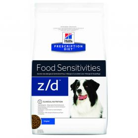 Hill's Prescription Diet - Croquettes Z/D Food Sensitivities pour Chien - 10Kg