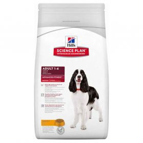 Hill's Science Plan - Croquettes Advanced Fitness Medium Adult Poulet pour Chien - 12Kg