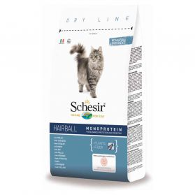 Schesir - Croquettes Hairball au Poulet pour Chat - 1,5Kg