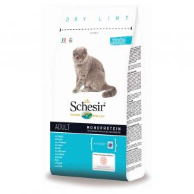 Schesir - Croquettes Adult Maintenance au Poisson pour Chat - 10Kg