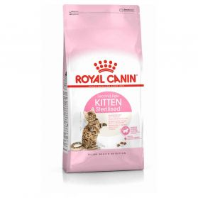 Royal Canin - Croquettes Kitten Sterilised pour Chaton - 2Kg