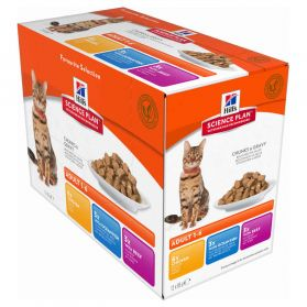 Hill's Science Plan - Sachets Multipack pour Chat - 12x85g