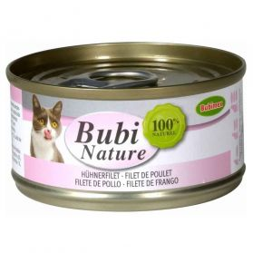 Bubimex - Pâtée Bubi Nature Filets de Poulet pour Chat - 70g