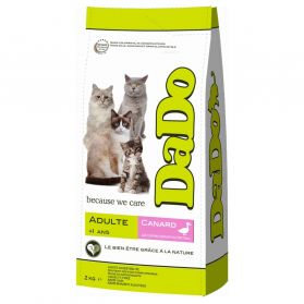 Dado - Croquettes Adulte Canard Chat - 2Kg