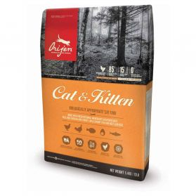 Orijen - Croquettes Cat & Kitten pour Chat - 5,4Kg