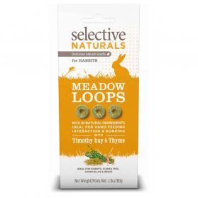 Supreme Science - Selective Naturals Meadow Loops pour Rongeurs - 80g