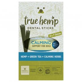 True Hemp - Multi Box Barres Dentaires Calming pour Chien - x28