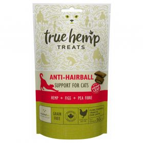 True Hemp - Friandises Anti-Hairball pour Chat - 50g