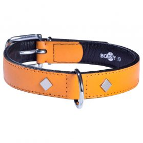 Bobby - Collier TOMY moutarde 35