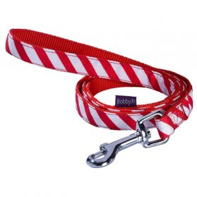 Bobby - Laisse CANDY rouge S