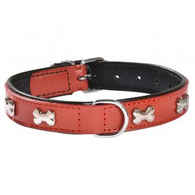 Bobby - Collier  Extra Souple rouge 40