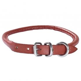 Bobby - Collier Extra Souple Rond rouge 25