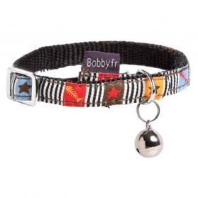 Bobby - Collier Chat Musique marron XS