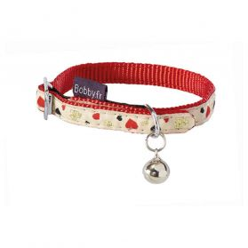 Bobby - Collier Chat Lovely rouge XS
