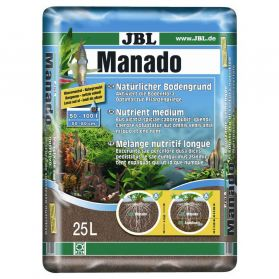 JBL - Substrat Sol Naturel Manado pour Aquarium - 25L