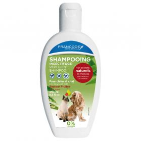 Francodex - Shampoing Insectifuge Fruitée pour Chien et Chat - 250ml