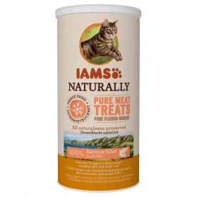IAMS Naturally - Friandises au Saumon pour Chat - 20g