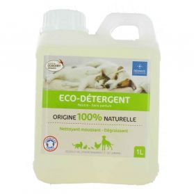 Demavic - Eco-Détergent Neutre 100% Naturel pour Habitat Animal - 1L