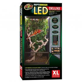 Zoomed - Terrarium ReptiBreeze LED Deluxe - XL
