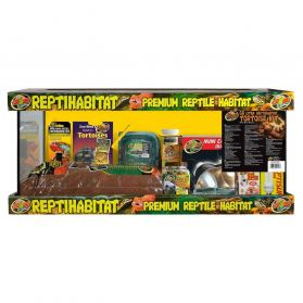 Zoomed - Terrarium ReptiHabitat Kit Tortues Terrestres - 76x30x30cm