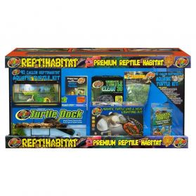 Zoomed - Terrarium ReptiHabitat Kit Tortues Aquatiques - 91x46x46cm