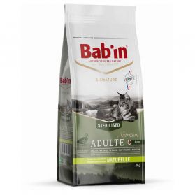 Bab'in - Croquettes SIGNATURE Canard pour Chat - 2Kg