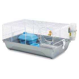 Savic - Cage Martha Blanche pour Hamster - 46,5x29,5x21cm
