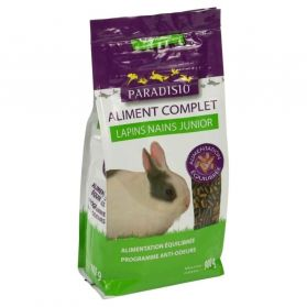 Paradisio - Aliment Complet pour Lapins Nains Junior