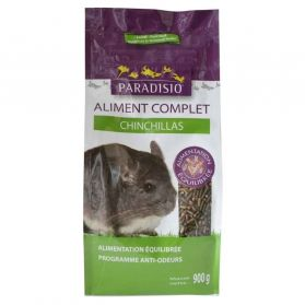 Paradisio - Aliment Complet pour Chinchillas - 900g