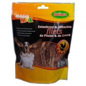 Bubimex - Friandises Filets de Poulet et Canard Magic Mix pour Chien - 300g