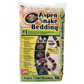 Zoomed - Litiere Snake Bedding pour Serpent Aspen - 26,4L
